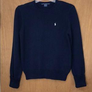RALPH LAUREN GOLF Navy Blue Crew Neck Sweater M